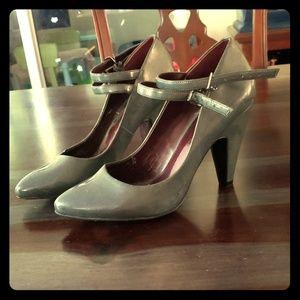 Dark grey Jessica Simpson heels